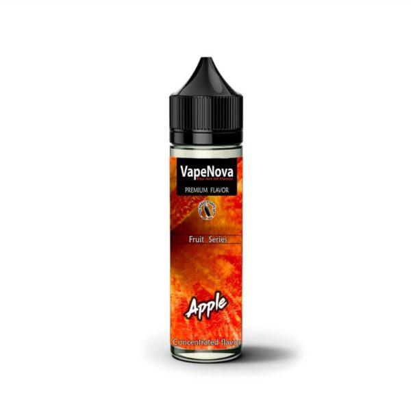 μηλο κοκκινο ζουμερο υγρο αναπληρωσης ηλεκτρονικου τσιγαρου με καταπληκτικη γευση από την vapenova.