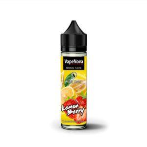 λεμονι φραουλα τζιν ζαχαρη υγρο αναπληρωσης ηλεκτρονικου τσιγαρου με καταπληκτικη γευση από την vapenova.